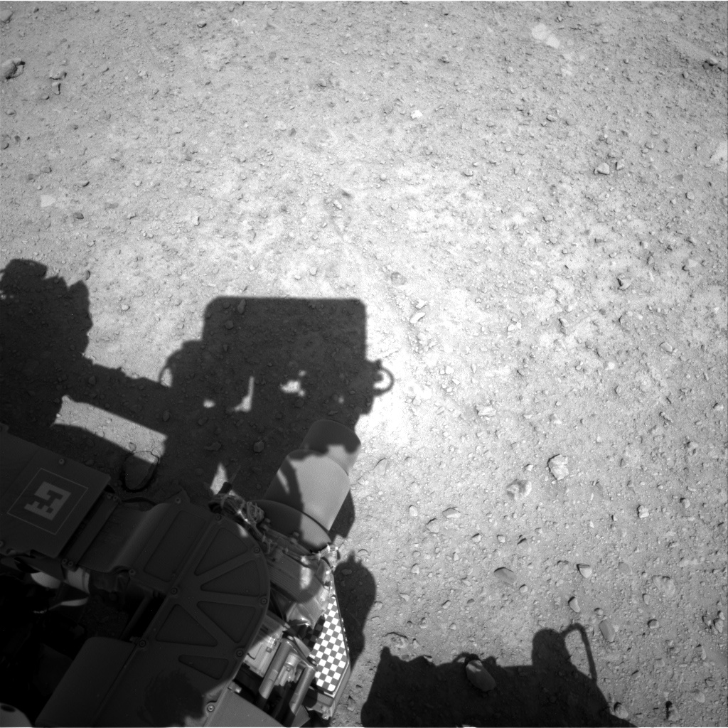 Nasa's Mars rover Curiosity acquired this image using its Right Navigation Camera on Sol 658, at drive 238, site number 35