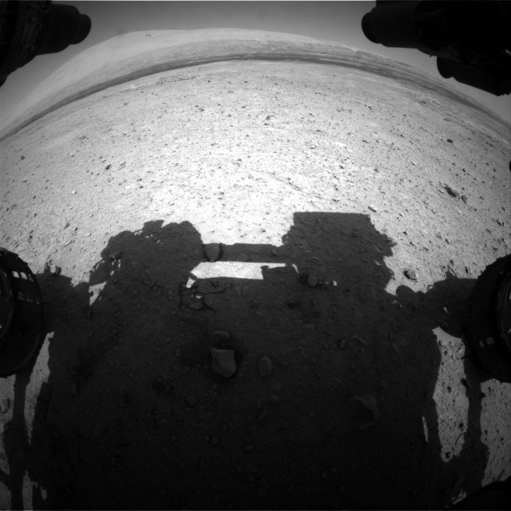 Nasa's Mars rover Curiosity acquired this image using its Front Hazard Avoidance Camera (Front Hazcam) on Sol 659, at drive 238, site number 35