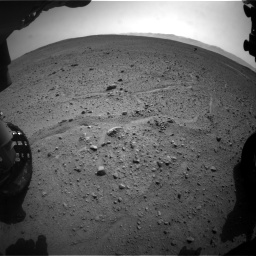 Nasa's Mars rover Curiosity acquired this image using its Front Hazard Avoidance Camera (Front Hazcam) on Sol 661, at drive 946, site number 35
