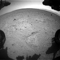 Nasa's Mars rover Curiosity acquired this image using its Front Hazard Avoidance Camera (Front Hazcam) on Sol 661, at drive 820, site number 35