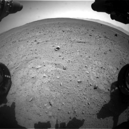 Nasa's Mars rover Curiosity acquired this image using its Front Hazard Avoidance Camera (Front Hazcam) on Sol 661, at drive 838, site number 35
