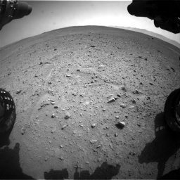 Nasa's Mars rover Curiosity acquired this image using its Front Hazard Avoidance Camera (Front Hazcam) on Sol 661, at drive 874, site number 35