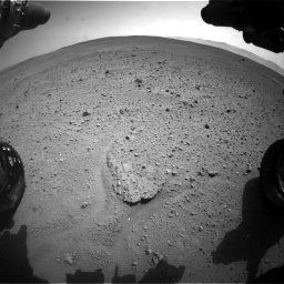 Nasa's Mars rover Curiosity acquired this image using its Front Hazard Avoidance Camera (Front Hazcam) on Sol 661, at drive 910, site number 35