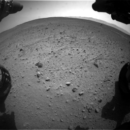Nasa's Mars rover Curiosity acquired this image using its Front Hazard Avoidance Camera (Front Hazcam) on Sol 661, at drive 928, site number 35