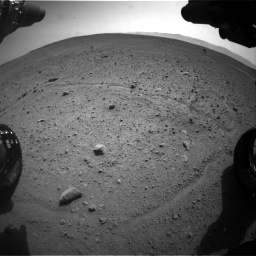 Nasa's Mars rover Curiosity acquired this image using its Front Hazard Avoidance Camera (Front Hazcam) on Sol 661, at drive 964, site number 35