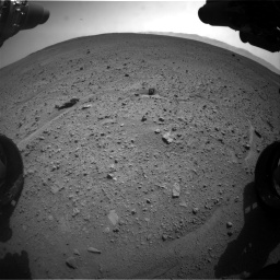 Nasa's Mars rover Curiosity acquired this image using its Front Hazard Avoidance Camera (Front Hazcam) on Sol 661, at drive 982, site number 35