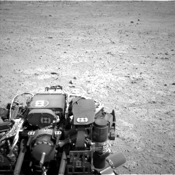 Nasa's Mars rover Curiosity acquired this image using its Left Navigation Camera on Sol 661, at drive 814, site number 35