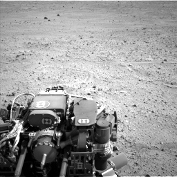 NASA's Mars rover Curiosity acquired this image using its Left Navigation Camera (Navcams) on Sol 661