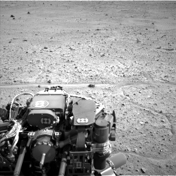 Nasa's Mars rover Curiosity acquired this image using its Left Navigation Camera on Sol 661, at drive 970, site number 35