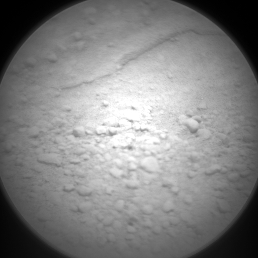 Nasa's Mars rover Curiosity acquired this image using its Chemistry & Camera (ChemCam) on Sol 662, at drive 998, site number 35