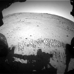 Nasa's Mars rover Curiosity acquired this image using its Front Hazard Avoidance Camera (Front Hazcam) on Sol 662, at drive 1370, site number 35