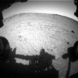 Nasa's Mars rover Curiosity acquired this image using its Front Hazard Avoidance Camera (Front Hazcam) on Sol 662, at drive 1430, site number 35