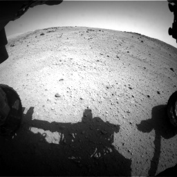 Nasa's Mars rover Curiosity acquired this image using its Front Hazard Avoidance Camera (Front Hazcam) on Sol 662, at drive 1484, site number 35