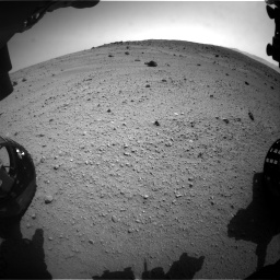 Nasa's Mars rover Curiosity acquired this image using its Front Hazard Avoidance Camera (Front Hazcam) on Sol 662, at drive 1562, site number 35