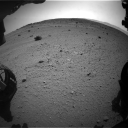 Nasa's Mars rover Curiosity acquired this image using its Front Hazard Avoidance Camera (Front Hazcam) on Sol 662, at drive 1580, site number 35