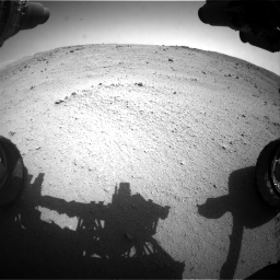 Nasa's Mars rover Curiosity acquired this image using its Front Hazard Avoidance Camera (Front Hazcam) on Sol 662, at drive 1376, site number 35