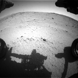 Nasa's Mars rover Curiosity acquired this image using its Front Hazard Avoidance Camera (Front Hazcam) on Sol 662, at drive 1394, site number 35