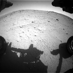 Nasa's Mars rover Curiosity acquired this image using its Front Hazard Avoidance Camera (Front Hazcam) on Sol 662, at drive 1412, site number 35