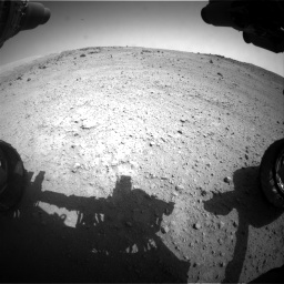 Nasa's Mars rover Curiosity acquired this image using its Front Hazard Avoidance Camera (Front Hazcam) on Sol 662, at drive 1448, site number 35
