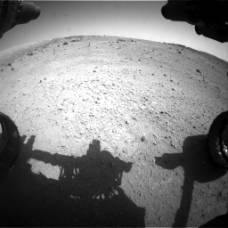 Nasa's Mars rover Curiosity acquired this image using its Front Hazard Avoidance Camera (Front Hazcam) on Sol 662, at drive 1466, site number 35