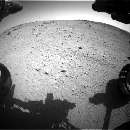 Nasa's Mars rover Curiosity acquired this image using its Front Hazard Avoidance Camera (Front Hazcam) on Sol 662, at drive 1502, site number 35