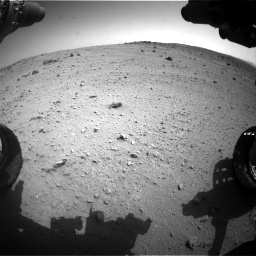 Nasa's Mars rover Curiosity acquired this image using its Front Hazard Avoidance Camera (Front Hazcam) on Sol 662, at drive 1538, site number 35