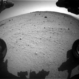 Nasa's Mars rover Curiosity acquired this image using its Front Hazard Avoidance Camera (Front Hazcam) on Sol 662, at drive 1556, site number 35