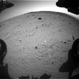Nasa's Mars rover Curiosity acquired this image using its Front Hazard Avoidance Camera (Front Hazcam) on Sol 662, at drive 1568, site number 35