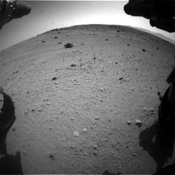 Nasa's Mars rover Curiosity acquired this image using its Front Hazard Avoidance Camera (Front Hazcam) on Sol 662, at drive 1574, site number 35