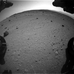 Nasa's Mars rover Curiosity acquired this image using its Front Hazard Avoidance Camera (Front Hazcam) on Sol 662, at drive 1598, site number 35