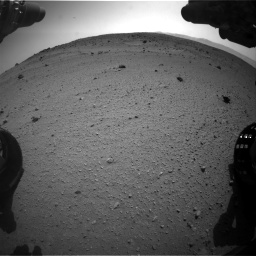 Nasa's Mars rover Curiosity acquired this image using its Front Hazard Avoidance Camera (Front Hazcam) on Sol 662, at drive 1604, site number 35