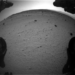 Nasa's Mars rover Curiosity acquired this image using its Front Hazard Avoidance Camera (Front Hazcam) on Sol 662, at drive 1610, site number 35