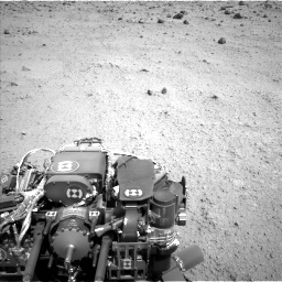 Nasa's Mars rover Curiosity acquired this image using its Left Navigation Camera on Sol 662, at drive 1412, site number 35