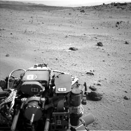Nasa's Mars rover Curiosity acquired this image using its Left Navigation Camera on Sol 662, at drive 1586, site number 35