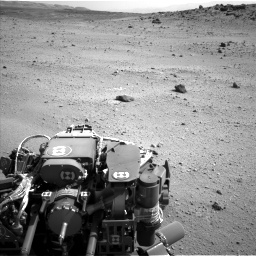 Nasa's Mars rover Curiosity acquired this image using its Left Navigation Camera on Sol 662, at drive 1592, site number 35