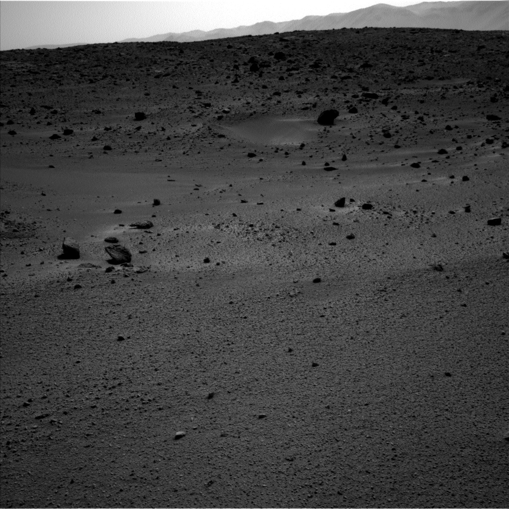 Nasa's Mars rover Curiosity acquired this image using its Left Navigation Camera on Sol 662, at drive 0, site number 36