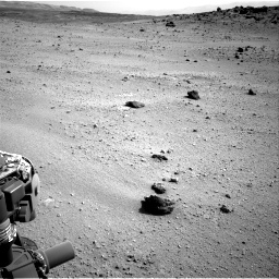 Nasa's Mars rover Curiosity acquired this image using its Right Navigation Camera on Sol 662, at drive 1586, site number 35