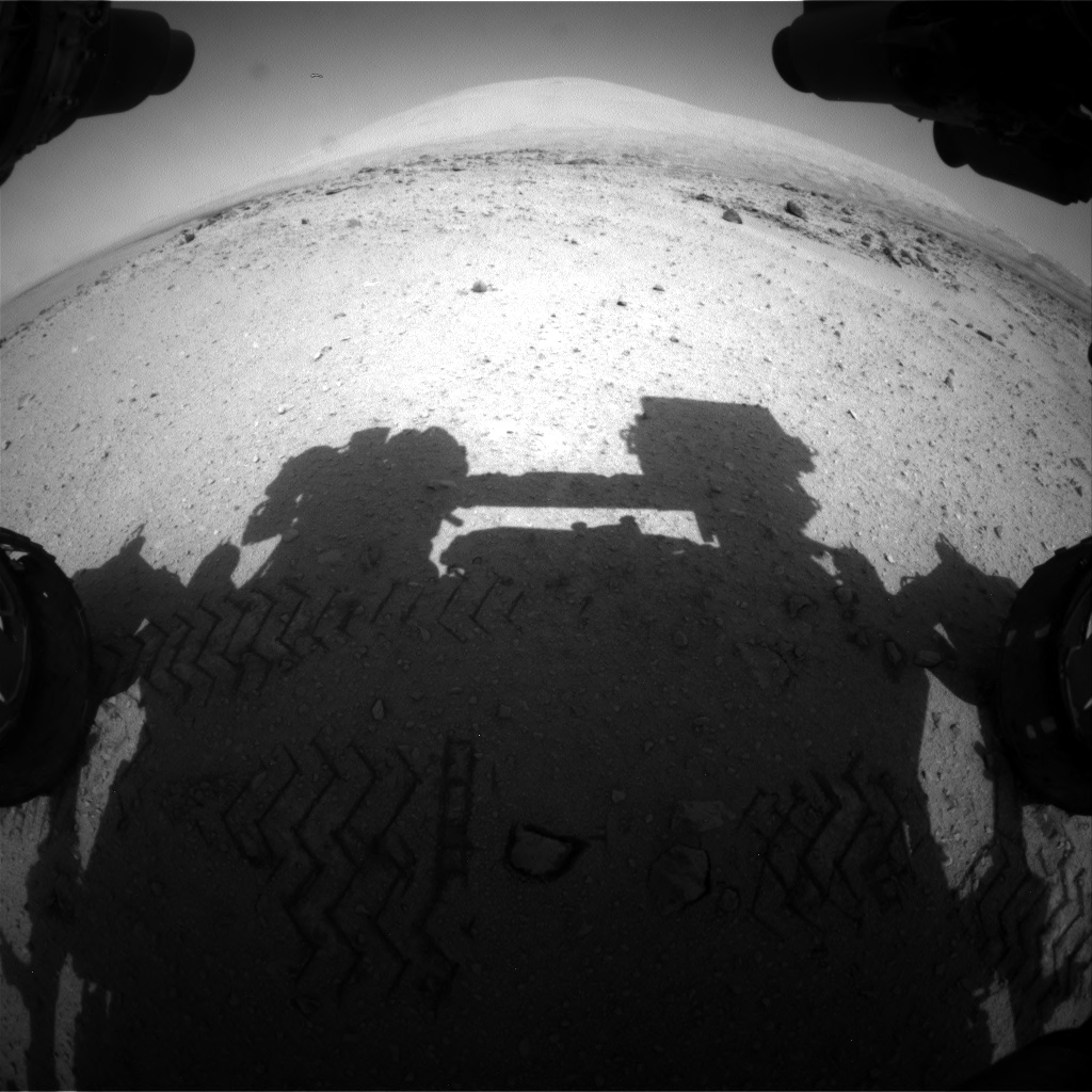 Nasa's Mars rover Curiosity acquired this image using its Front Hazard Avoidance Camera (Front Hazcam) on Sol 663, at drive 178, site number 36