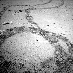 Nasa's Mars rover Curiosity acquired this image using its Left Navigation Camera on Sol 663, at drive 84, site number 36