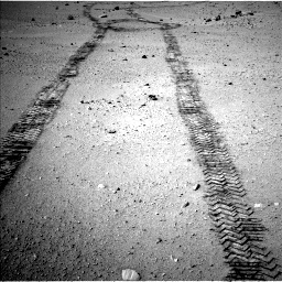 Nasa's Mars rover Curiosity acquired this image using its Left Navigation Camera on Sol 663, at drive 150, site number 36