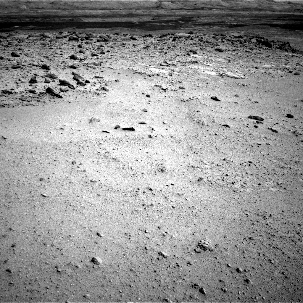 Nasa's Mars rover Curiosity acquired this image using its Left Navigation Camera on Sol 663, at drive 178, site number 36