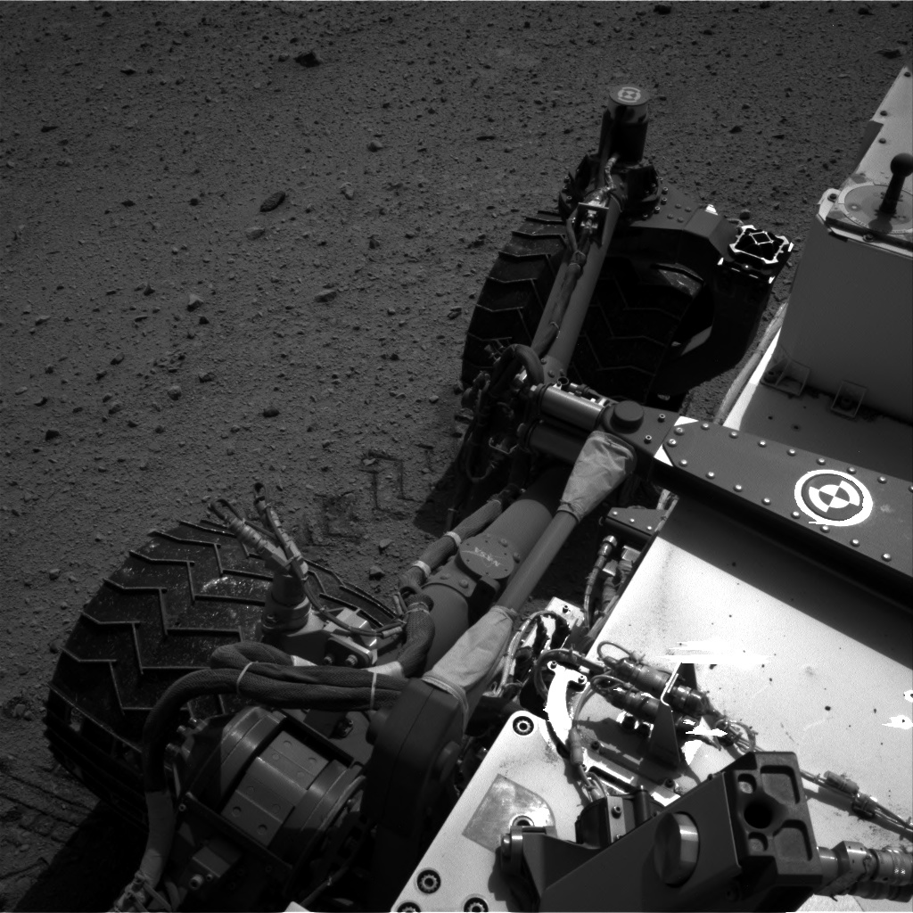 Nasa's Mars rover Curiosity acquired this image using its Right Navigation Camera on Sol 663, at drive 178, site number 36