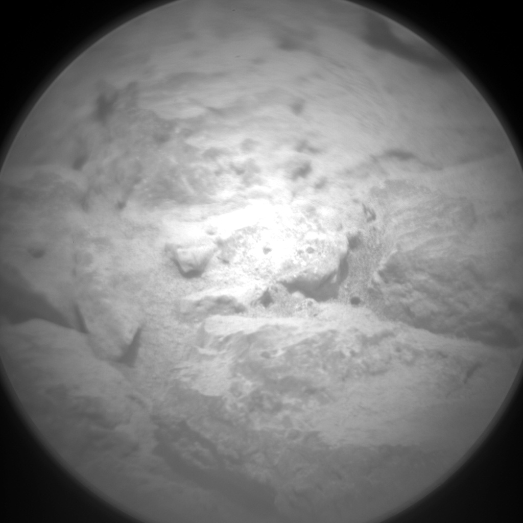 Nasa's Mars rover Curiosity acquired this image using its Chemistry & Camera (ChemCam) on Sol 664, at drive 178, site number 36