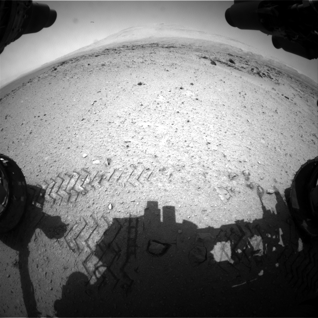 Nasa's Mars rover Curiosity acquired this image using its Front Hazard Avoidance Camera (Front Hazcam) on Sol 664, at drive 178, site number 36