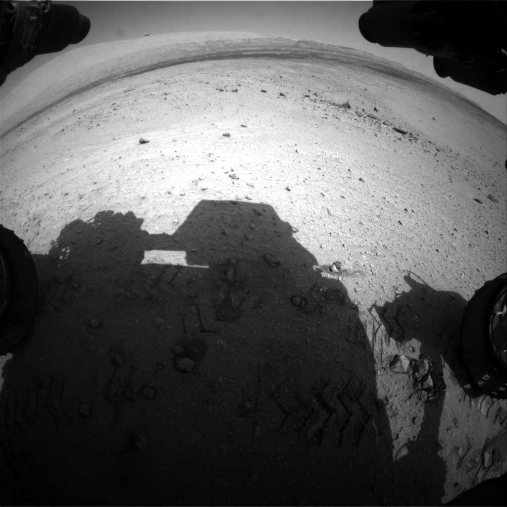 Nasa's Mars rover Curiosity acquired this image using its Front Hazard Avoidance Camera (Front Hazcam) on Sol 664, at drive 416, site number 36