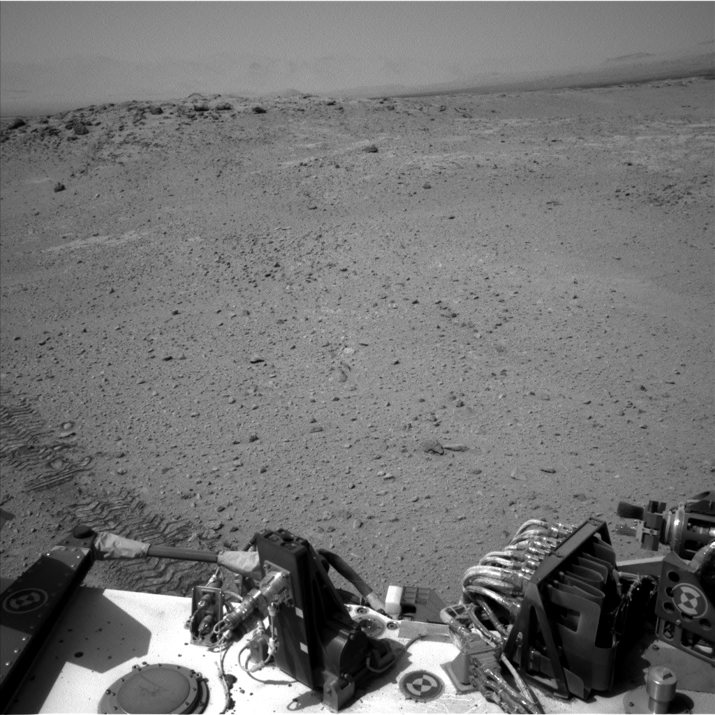 Nasa's Mars rover Curiosity acquired this image using its Left Navigation Camera on Sol 664, at drive 416, site number 36