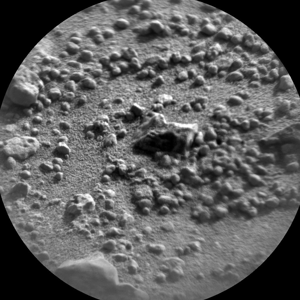 Nasa's Mars rover Curiosity acquired this image using its Chemistry & Camera (ChemCam) on Sol 664, at drive 416, site number 36
