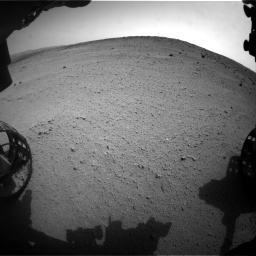 Nasa's Mars rover Curiosity acquired this image using its Front Hazard Avoidance Camera (Front Hazcam) on Sol 665, at drive 860, site number 36
