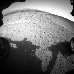 Nasa's Mars rover Curiosity acquired this image using its Front Hazard Avoidance Camera (Front Hazcam) on Sol 665, at drive 1004, site number 36