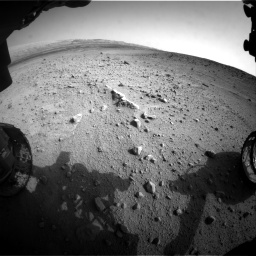 Nasa's Mars rover Curiosity acquired this image using its Front Hazard Avoidance Camera (Front Hazcam) on Sol 665, at drive 1052, site number 36